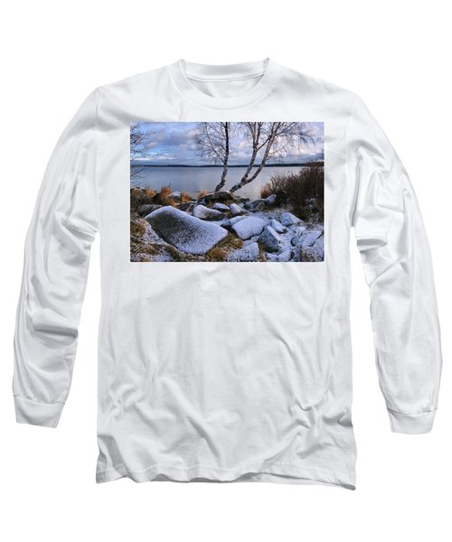 Long Sleeve T-Shirt featuring the photograph November Day by Vladimir Kholostykh