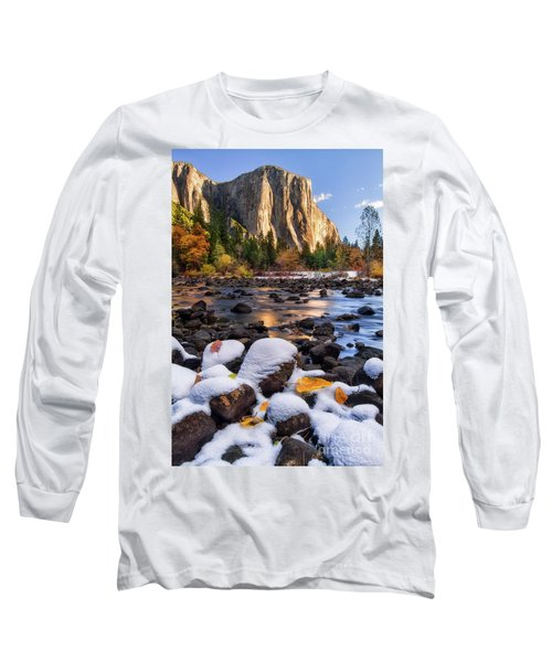 November Morning Long Sleeve T-Shirt by Anthony Michael Bonafede