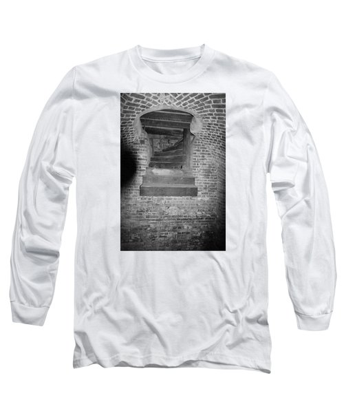 Nowhere Stair Long Sleeve T-Shirt by Tammy Schneider