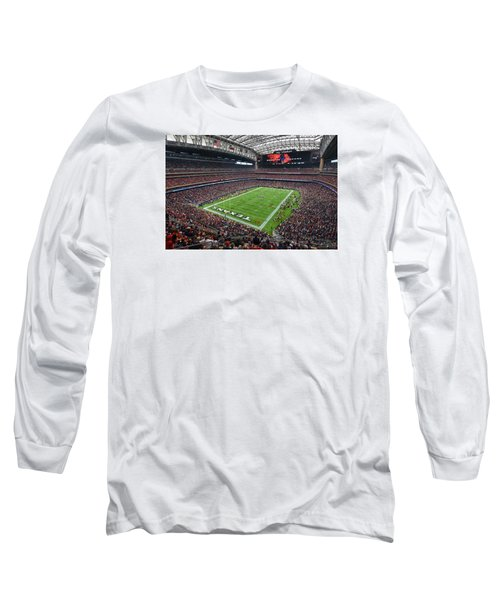 Nrg Stadium - Houston Texans  Long Sleeve T-Shirt