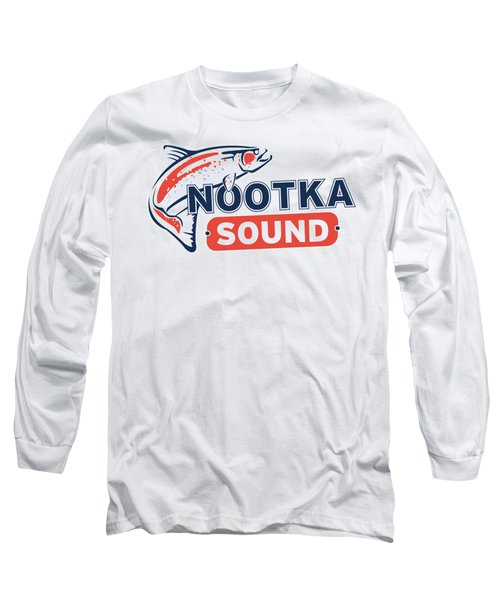 Ns Logo #2 Long Sleeve T-Shirt by Nootka Sound