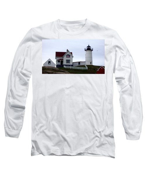 Nubble Light Long Sleeve T-Shirt by Kevin Fortier