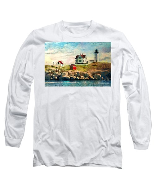 Nubble Light - Painted Long Sleeve T-Shirt