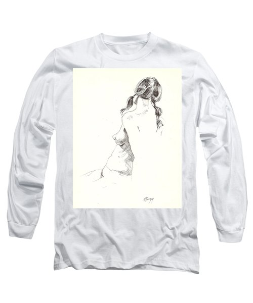 Nude 9 Long Sleeve T-Shirt