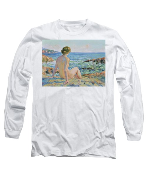 Nude On The Coast Monaco Long Sleeve T-Shirt
