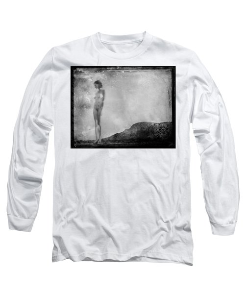 Nude On The Fence, Galisteo Long Sleeve T-Shirt