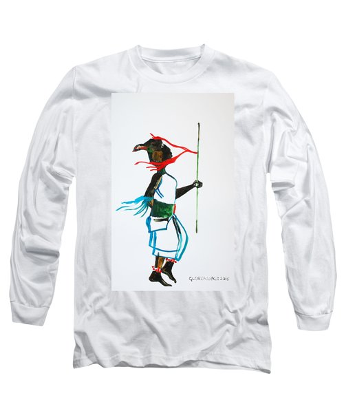 Nuer Dance - South Sudan Long Sleeve T-Shirt