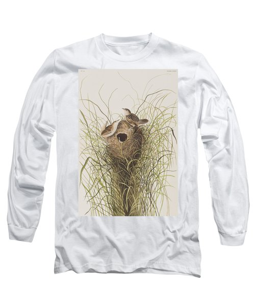 Nuttall's Lesser-marsh Wren  Long Sleeve T-Shirt