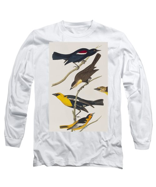 Nuttall's Starling Yellow-headed Troopial Bullock's Oriole Long Sleeve T-Shirt