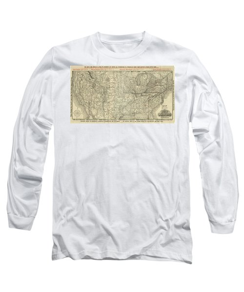 O And M Map Long Sleeve T-Shirt
