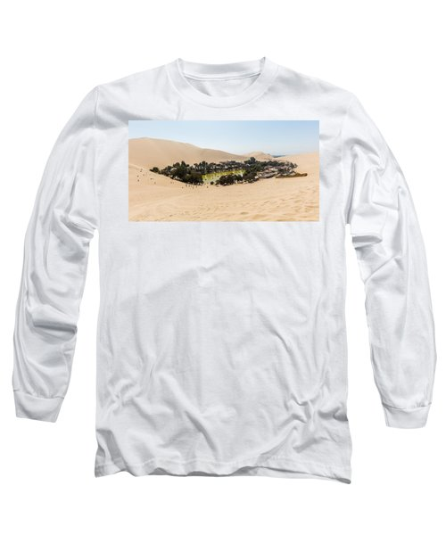 Oasis De Huacachina Long Sleeve T-Shirt