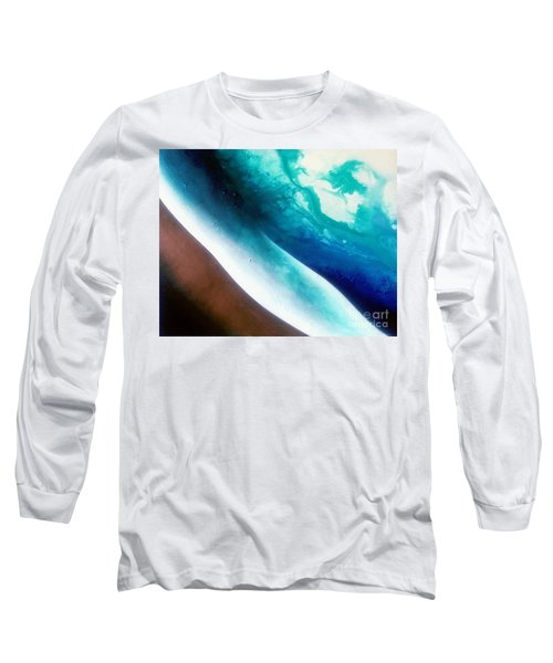 Crystal Wave Long Sleeve T-Shirt