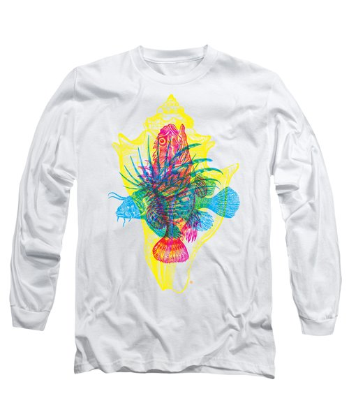Ocean Creatures Long Sleeve T-Shirt