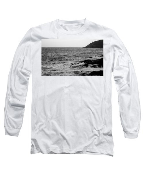 Long Sleeve T-Shirt featuring the photograph Ocean Drive by Greg DeBeck