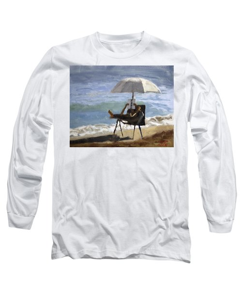Ocean Reader Long Sleeve T-Shirt