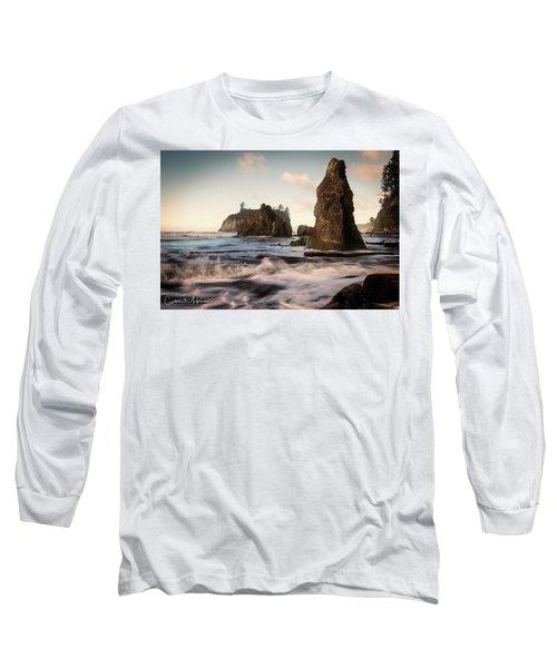 Ocean Spire Signature Series Long Sleeve T-Shirt by Chris McKenna