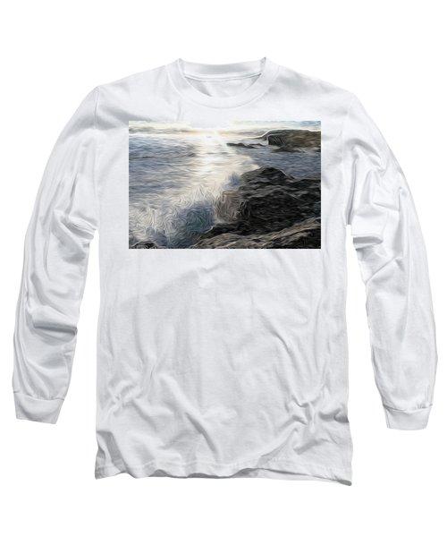 Ocean Splash Long Sleeve T-Shirt