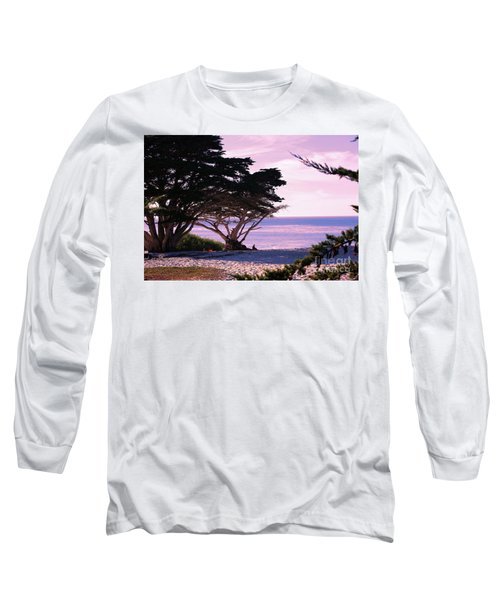Ocean Views From Carmel Beach  Long Sleeve T-Shirt