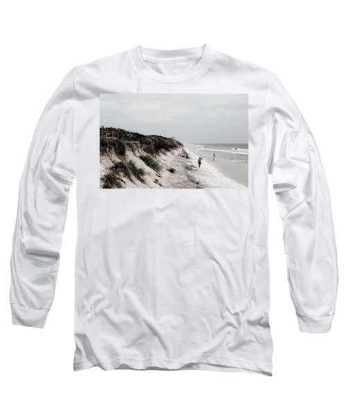 Oceanside Long Sleeve T-Shirt by Amar Sheow