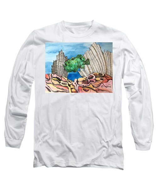 Ocellated Frogfish Long Sleeve T-Shirt