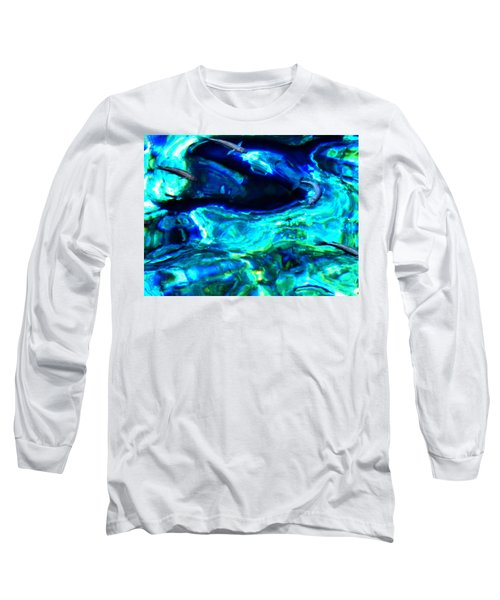 Long Sleeve T-Shirt featuring the photograph Ocean Reflections  by Colette V Hera  Guggenheim