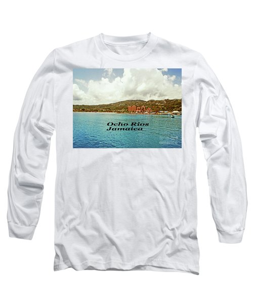 Long Sleeve T-Shirt featuring the photograph Ocho Rios Jamaica by Gary Wonning