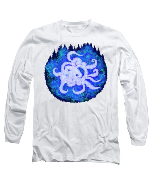 Octopus And Trees Long Sleeve T-Shirt