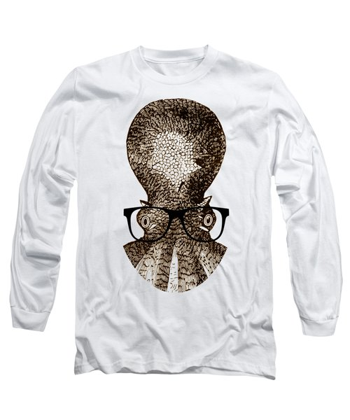 Octopus Head Long Sleeve T-Shirt