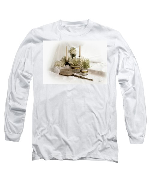 Long Sleeve T-Shirt featuring the photograph Of Days Past by Ann Lauwers