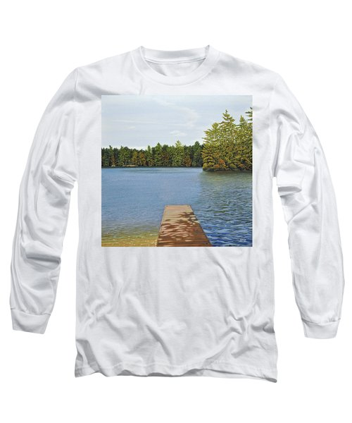 Off The Dock Long Sleeve T-Shirt by Kenneth M  Kirsch