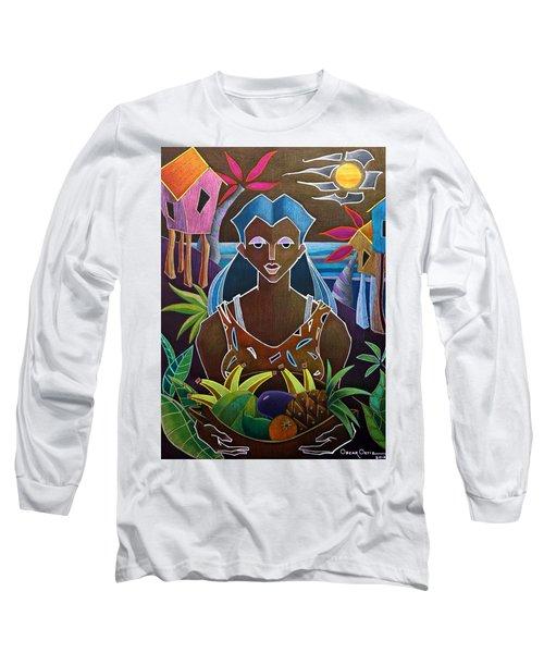 Ofrendas De Mi Tierra II Long Sleeve T-Shirt