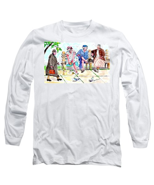 Oh My Aching Feet Long Sleeve T-Shirt