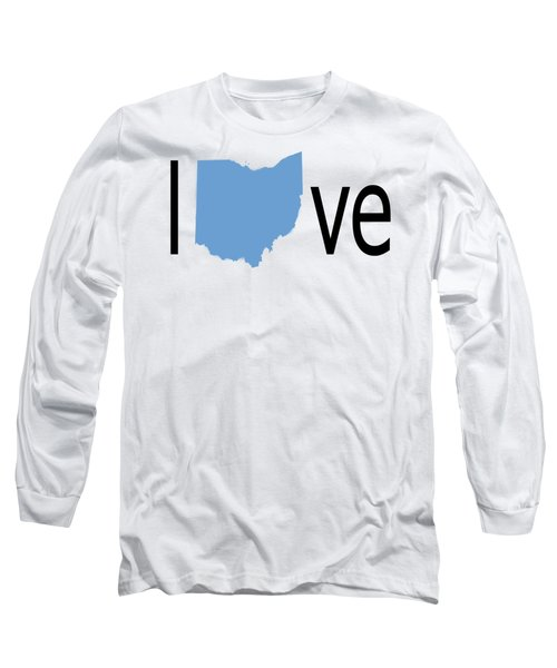 Ohio Love Long Sleeve T-Shirt