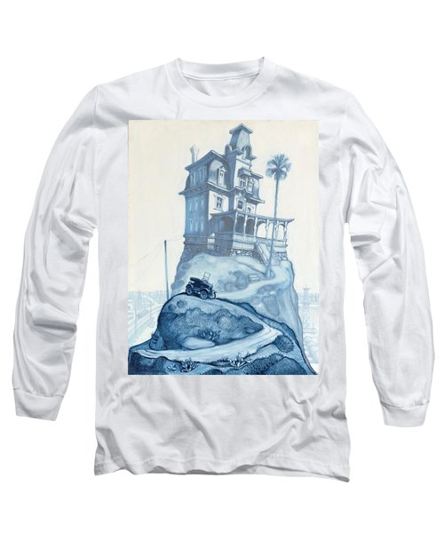 Oil Fields And Orchards Long Sleeve T-Shirt