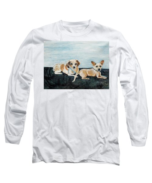 Oil Painting Long Sleeve T-Shirt