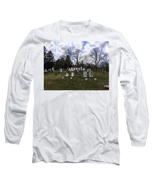 Old Town Cemetery Sandwich, Massachusetts Long Sleeve T-Shirt