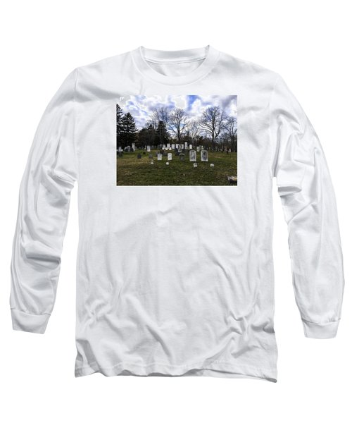 Old Town Cemetery Sandwich, Massachusetts Long Sleeve T-Shirt