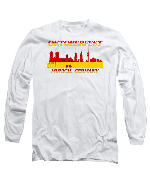 Oktoberfest Munich Germany Long Sleeve T-Shirt