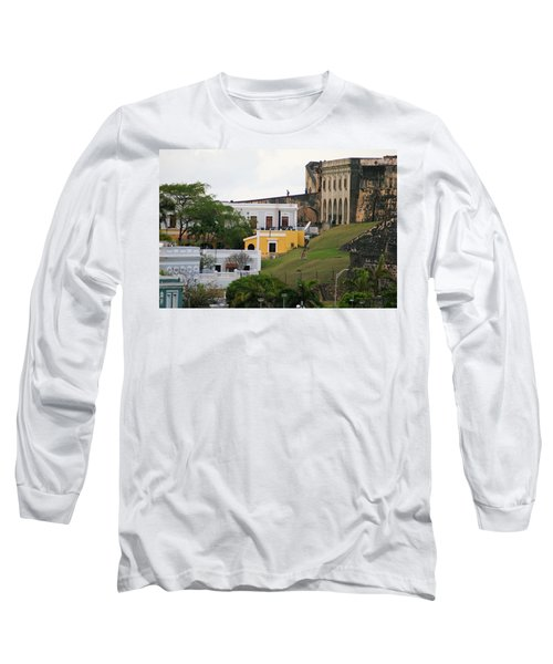 Old And New Long Sleeve T-Shirt by Lois Lepisto
