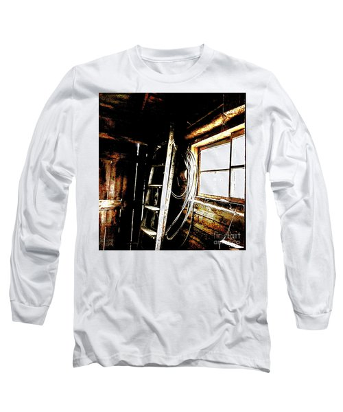 Old Barn Ladder Long Sleeve T-Shirt
