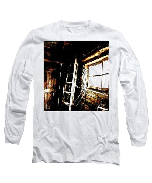 Old Barn Ladder Long Sleeve T-Shirt