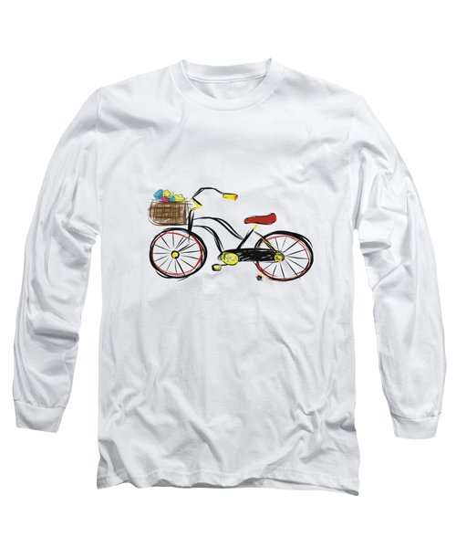 Old Bicycle Long Sleeve T-Shirt
