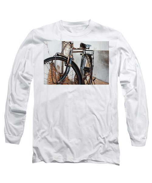 Old Bike II Long Sleeve T-Shirt