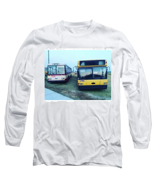#old #bus #museum #oldcarfest2016 Long Sleeve T-Shirt
