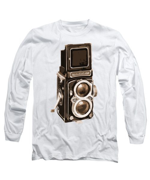 Old Camera Tee Long Sleeve T-Shirt