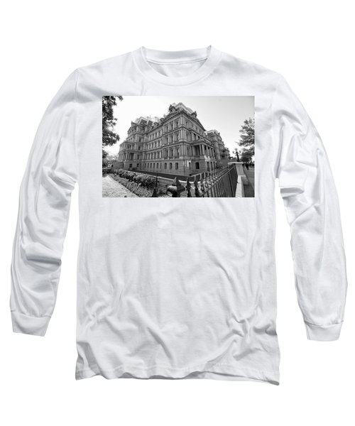 Old Executive Office Building Long Sleeve T-Shirt