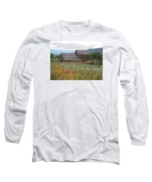 Old Farmhouse Long Sleeve T-Shirt