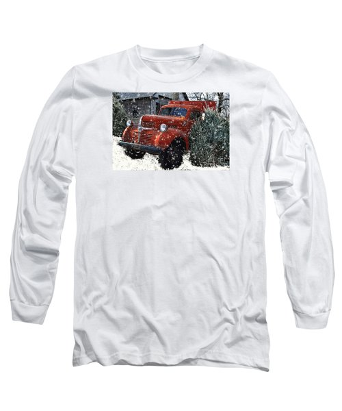 Old Fashion Country Christmas  Long Sleeve T-Shirt