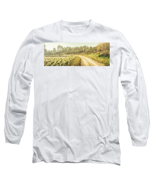 Old-fashioned Country Lane Long Sleeve T-Shirt