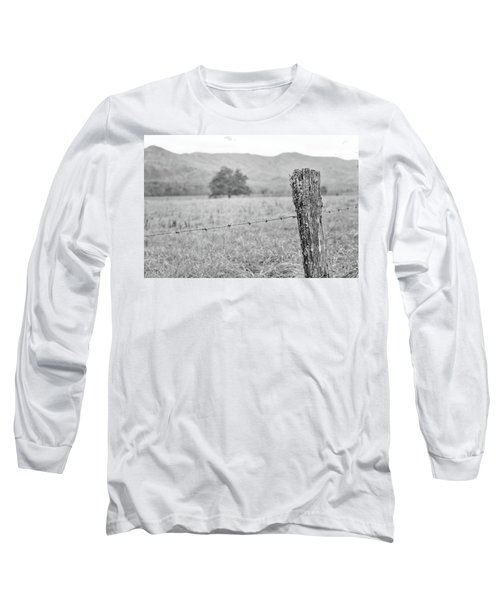 Old Fence Post Long Sleeve T-Shirt